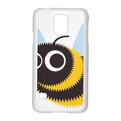 Bee Wasp Face Sinister Eye Fly Samsung Galaxy S5 Case (white)