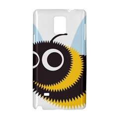 Bee Wasp Face Sinister Eye Fly Samsung Galaxy Note 4 Hardshell Case by Alisyart