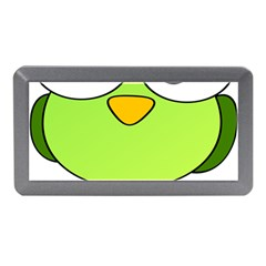 Bird Big Eyes Green Memory Card Reader (mini) by Alisyart