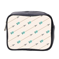 Arrow Quilt Mini Toiletries Bag 2 Side