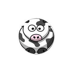 Animals Cow  Face Cute Golf Ball Marker (4 Pack) by Alisyart