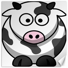 Animals Cow  Face Cute Canvas 20  X 20