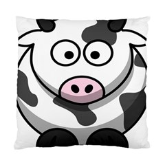 Animals Cow  Face Cute Standard Cushion Case (two Sides) by Alisyart