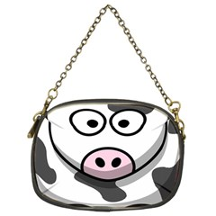 Animals Cow  Face Cute Chain Purses (two Sides)