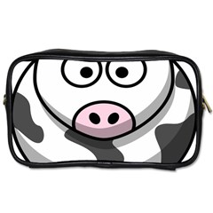 Animals Cow  Face Cute Toiletries Bags 2 Side by Alisyart