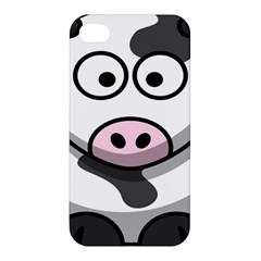 Animals Cow  Face Cute Apple Iphone 4/4s Hardshell Case