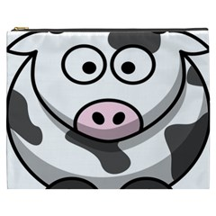 Animals Cow  Face Cute Cosmetic Bag (xxxl)