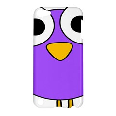 Bird Big Eyes Purple Apple Ipod Touch 5 Hardshell Case by Alisyart