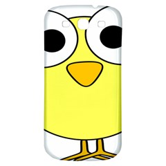 Bird Big Eyes Yellow Green Samsung Galaxy S3 S Iii Classic Hardshell Back Case by Alisyart