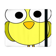Bird Big Eyes Yellow Green Samsung Galaxy Tab Pro 8 4  Flip Case by Alisyart
