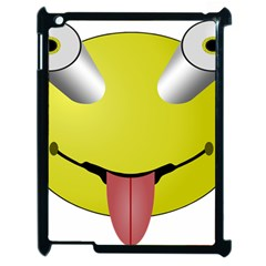 Bug Eye Tounge Apple Ipad 2 Case (black)