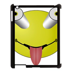 Bug Eye Tounge Apple Ipad 3/4 Case (black) by Alisyart