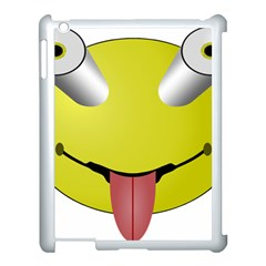 Bug Eye Tounge Apple Ipad 3/4 Case (white)