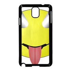 Bug Eye Tounge Samsung Galaxy Note 3 Neo Hardshell Case (black)