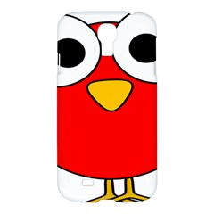 Bird Big Eyes Red Samsung Galaxy S4 I9500/i9505 Hardshell Case