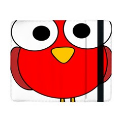 Bird Big Eyes Red Samsung Galaxy Tab Pro 8 4  Flip Case by Alisyart