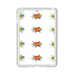 Boom Pow Pop Sign Ipad Mini 2 Enamel Coated Cases
