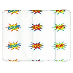 Boom Pow Pop Sign Samsung Galaxy Tab 7  P1000 Flip Case by Alisyart