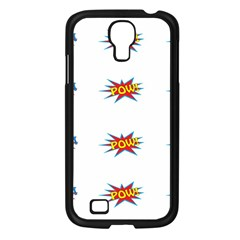 Boom Pow Pop Sign Samsung Galaxy S4 I9500/ I9505 Case (black) by Alisyart