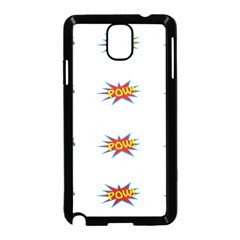 Boom Pow Pop Sign Samsung Galaxy Note 3 Neo Hardshell Case (black)