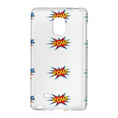 Boom Pow Pop Sign Galaxy Note Edge by Alisyart