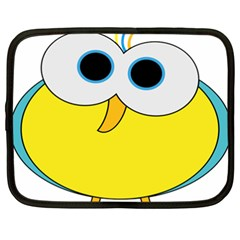 Bird Big Eyes Yellow Netbook Case (xxl)  by Alisyart