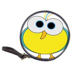 Bird Big Eyes Yellow Classic 20 Cd Wallets
