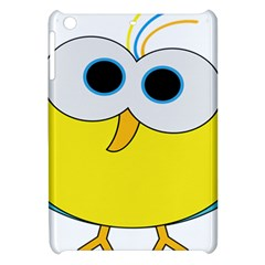 Bird Big Eyes Yellow Apple Ipad Mini Hardshell Case by Alisyart
