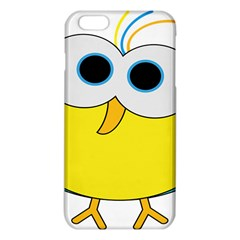 Bird Big Eyes Yellow Iphone 6 Plus/6s Plus Tpu Case