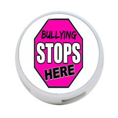 Bullying Stops Here Pink Sign 4 Port Usb Hub (two Sides)  by Alisyart