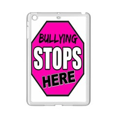 Bullying Stops Here Pink Sign Ipad Mini 2 Enamel Coated Cases