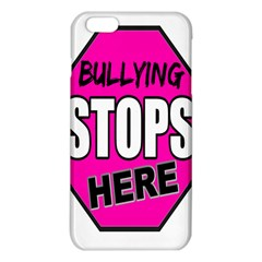 Bullying Stops Here Pink Sign Iphone 6 Plus/6s Plus Tpu Case by Alisyart