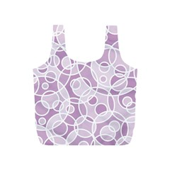Pattern Full Print Recycle Bags (s)  by Valentinaart
