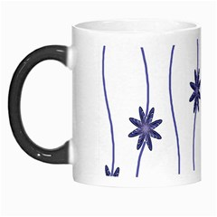 Geometric Flower Seamless Repeating Pattern With Curvy Lines Morph Mugs by Simbadda