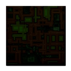 Circuit Board A Completely Seamless Background Design Tile Coasters by Simbadda