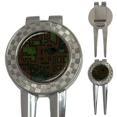 Circuit Board A Completely Seamless Background Design 3 In 1 Golf Divots by Simbadda