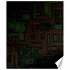 Circuit Board A Completely Seamless Background Design Canvas 20  X 24   by Simbadda