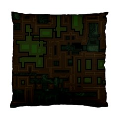Circuit Board A Completely Seamless Background Design Standard Cushion Case (two Sides) by Simbadda