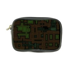 Circuit Board A Completely Seamless Background Design Coin Purse by Simbadda