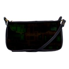 Circuit Board A Completely Seamless Background Design Shoulder Clutch Bags