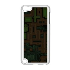 Circuit Board A Completely Seamless Background Design Apple Ipod Touch 5 Case (white)