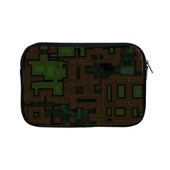 Circuit Board A Completely Seamless Background Design Apple Ipad Mini Zipper Cases by Simbadda