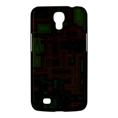 Circuit Board A Completely Seamless Background Design Samsung Galaxy Mega 6 3  I9200 Hardshell Case by Simbadda