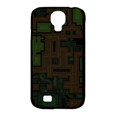 Circuit Board A Completely Seamless Background Design Samsung Galaxy S4 Classic Hardshell Case (pc+silicone) by Simbadda