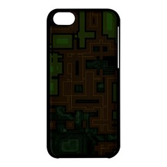 Circuit Board A Completely Seamless Background Design Apple Iphone 5c Hardshell Case