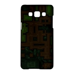 Circuit Board A Completely Seamless Background Design Samsung Galaxy A5 Hardshell Case  by Simbadda