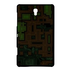 Circuit Board A Completely Seamless Background Design Samsung Galaxy Tab S (8 4 ) Hardshell Case  by Simbadda