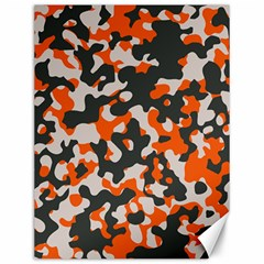 Camouflage Texture Patterns Canvas 12  X 16   by Simbadda