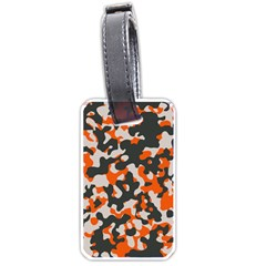 Camouflage Texture Patterns Luggage Tags (one Side)  by Simbadda