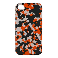 Camouflage Texture Patterns Apple Iphone 4/4s Hardshell Case by Simbadda